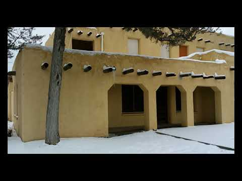 Belen, NM with Snow - State of the County News - Valencia County, NM