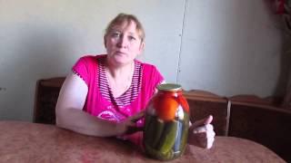 видео Что делать если вздулась банка с огурцами