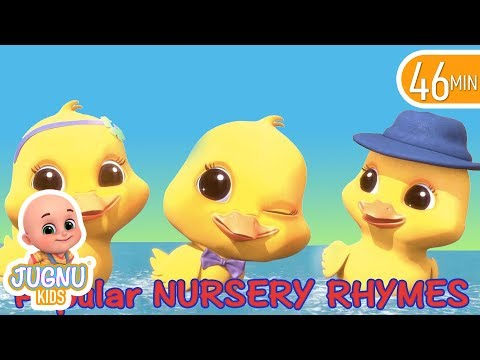 Five Little Ducks - Nursery Rhymes Compilation from Jugnu Kids