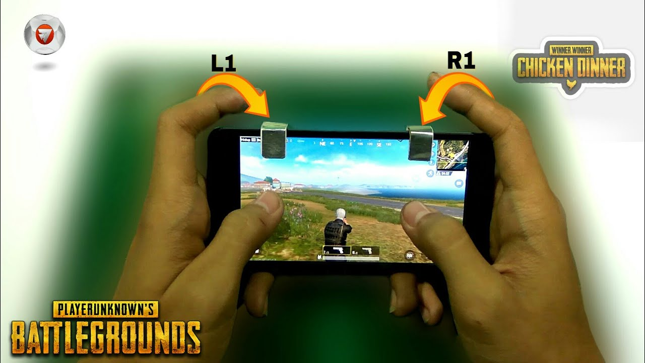 How To Make Fire Button L R Button For Pubg Smartphone L R Button