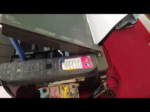 ปัญหาเครื่องพิมพ์แจ้ง E03 ใน Cannon mp287
