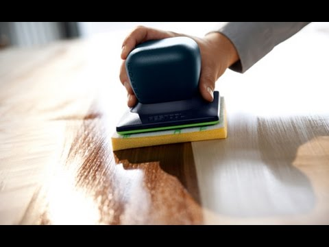 Festool Surfix Oil and Finish on Wood Application System & Process