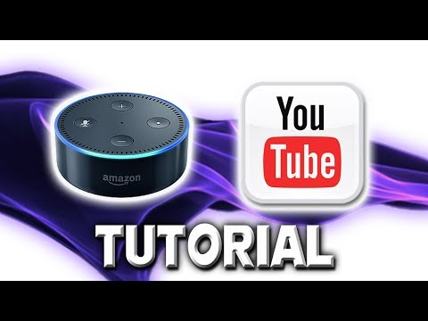 How to Play free music on Alexa - YouTube streaming skill Tutorial