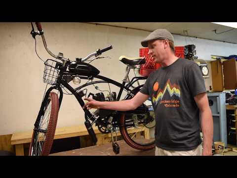 Building a Motorized Bicycle - 80cc Engine Kit - 75 mpg