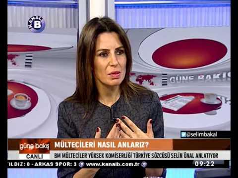 UNHCR Ankara Sözcüsü Selin ÜNAL Mültecileri anlattı...