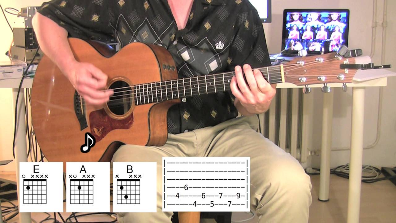 Teenage Dirtbag - Acoustic Guitar - chords - Wheatus - YouTube