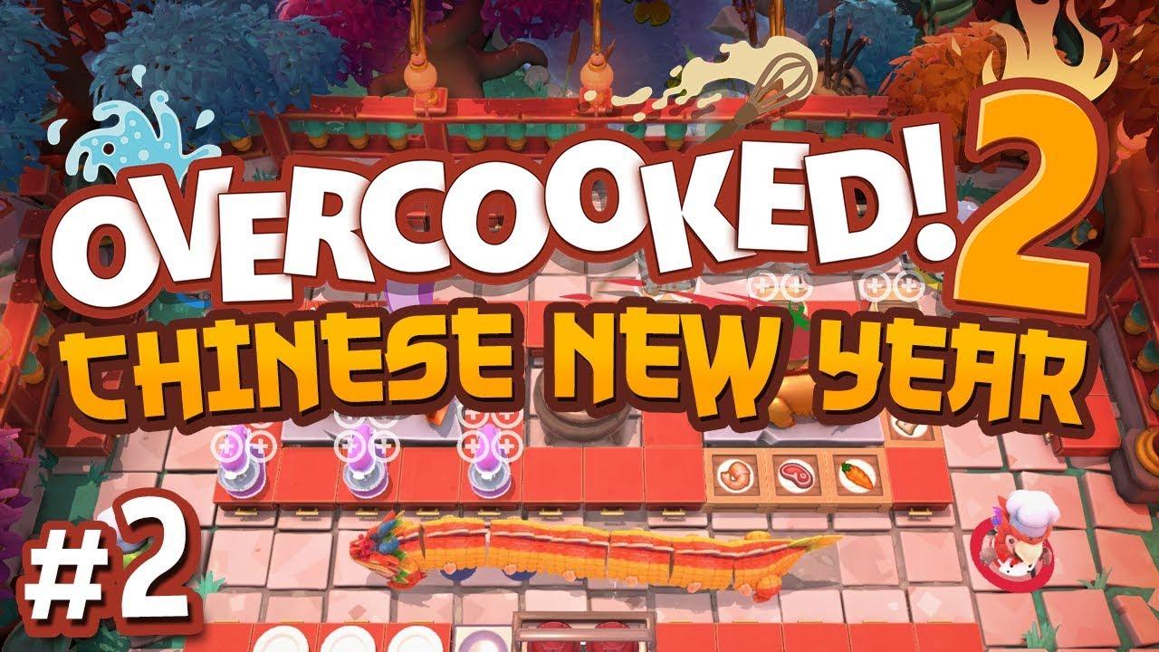 Overcooked 2: Chinese New Year DLC - #2