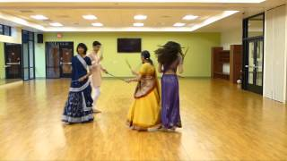 Download Hindi Video Songs - Garba Dance w Sticks Kusum Modi & Family at Folk Dance Club Sun City Oro Valley Arizona