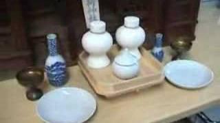 Kamidana God Shelf Set - Japan Old Wooden Shinto Zushi