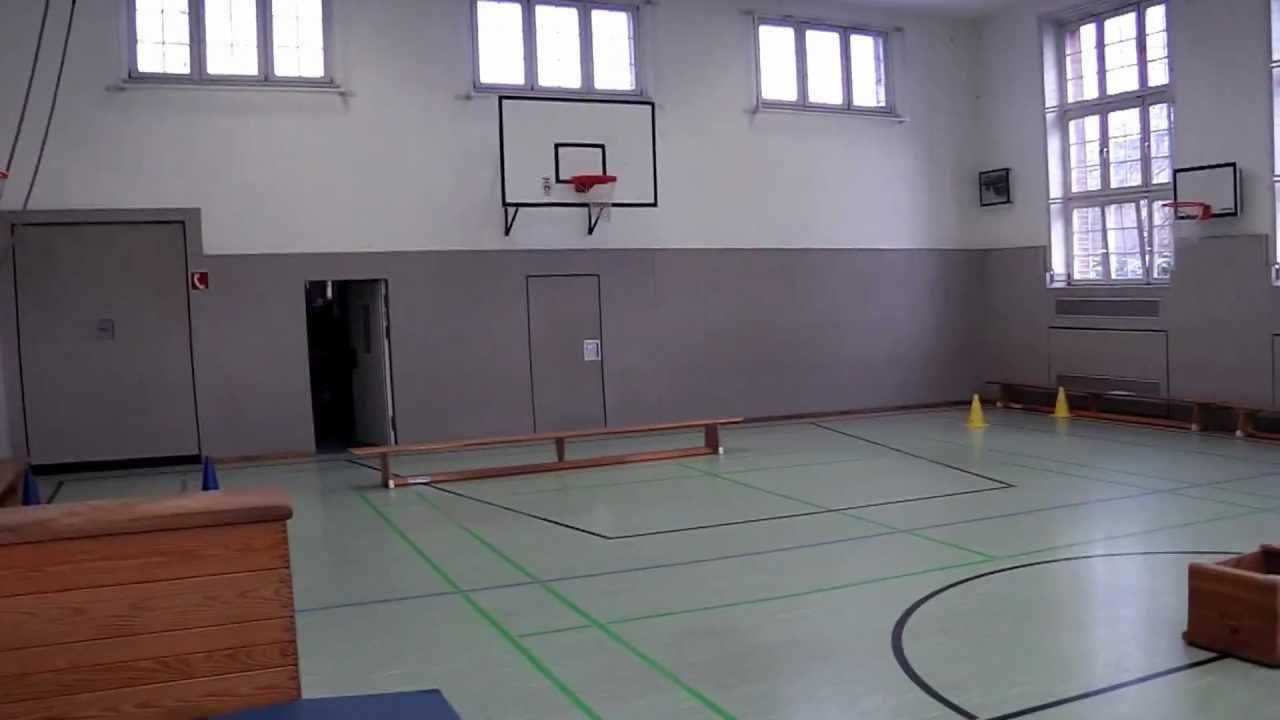 Schulsport Aufbau Brennball