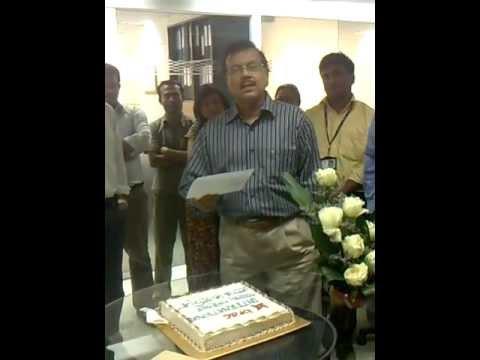 BRAC INTERNATIONAL CELEBRATING BIRTHDAY OF MR. FAZ...