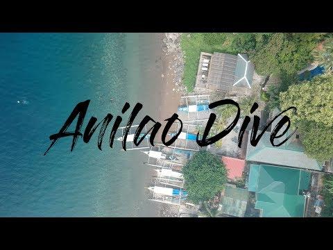 GoPro Hero 6 + DJI Spark - Anilao Dive Day