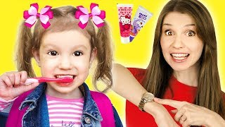 Put On Your Shoes Song | Essy Pretend Play Morning Routine Brush Teeth - Nursery Rhymes & Kids Songs
