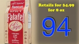 5/22 Gevalia Kaffe, Bixby Bar, Oatmeal Cookies, Barrel Pickles, Falafel Chips