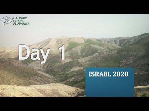 Calvary Chapel Fluvanna Israel Trip 2020 - Day 1