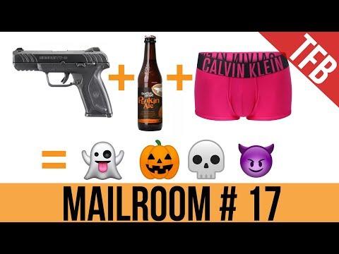 ✉ TFBTV Mailroom #17: Halloween/Oktoberfest + Gun Giveaway Winners!