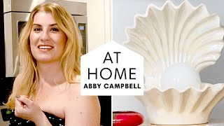 Tour This 80's Inspired Vintage Brooklyn Apartment | At Home with Abby Campbell | Harper's BAZAAR