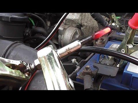 Diesel Glow Plug Test
