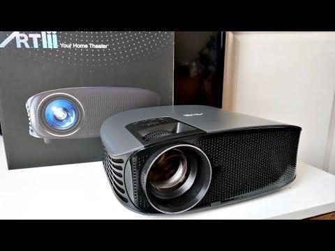 ARTLii HD Overhead 720p LED Home Cinema Projector - 3200 Lumens