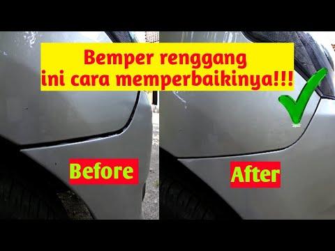 Cara Memperbaiki Bemper Mobil yang Renggang