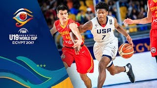 USA v Spain - Full Game - 3rd Place - FIBA U19 Basketball World Cup 2017