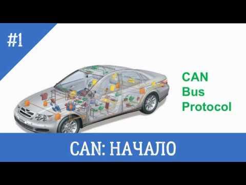 """Шина CAN. Часть 1. Разбираемся как работает CAN Bus, разберем кадр данных до """"костей""""."""