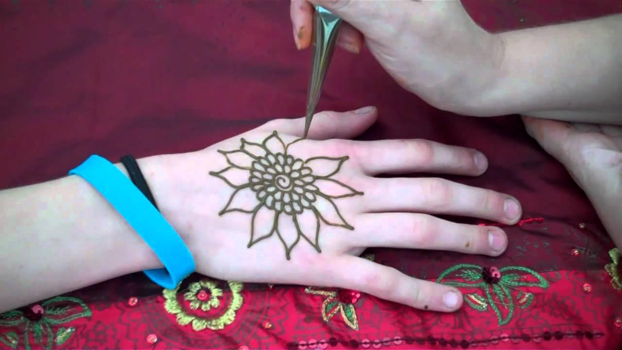 hennacat   quickie sff12 workshop henna   sunflower
