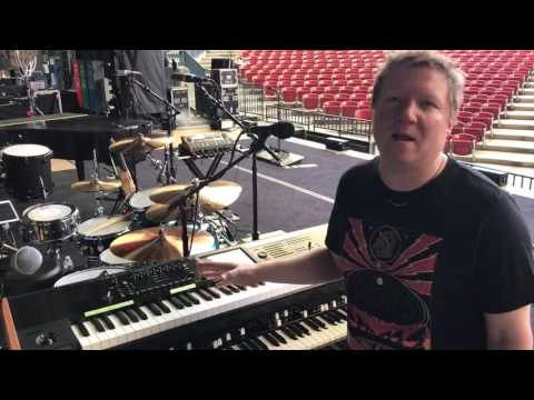 Matt Beck - 2017 Keyboard Rig with Matchbox Twenty