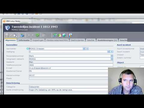 Two Widgets for Topdesk in de IBM Lotus Notes Client