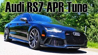 Audi RS7 with an APR stage 1 tune