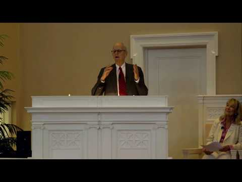 David M.Childs, speaking at the First Church of Christ, Scientist Historical Tour