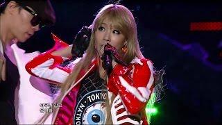 【TVPP】2NE1 - I Am The Best, 투애니원 - 내가 제일 잘나가 @ Show Music core Live