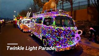 Twinkle Light Parade - Route 66 Aircooled VW Club - Christmas Lights
