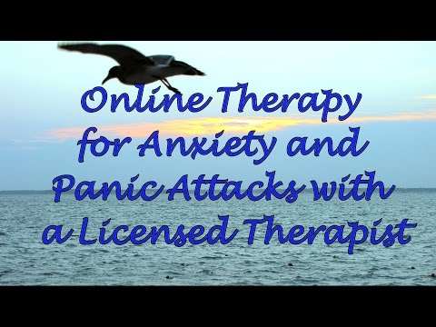 Online Therapy for Anxiety and Panic Attacks with a Licensed Therapist