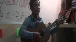 Bài ca trên núi & PHiên chợ mùa xuân - Guitar Văn Anh mot chang duong  13