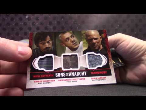 Jen's 2015 Sons of Anarchy & Country Music 2 Box Break