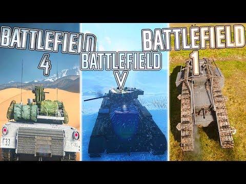 TANK COMBAT in BF5 vs BF1 vs BF4 (WHO WON?) | Battlefield 5 Tank Combat Gameplay thumbnail