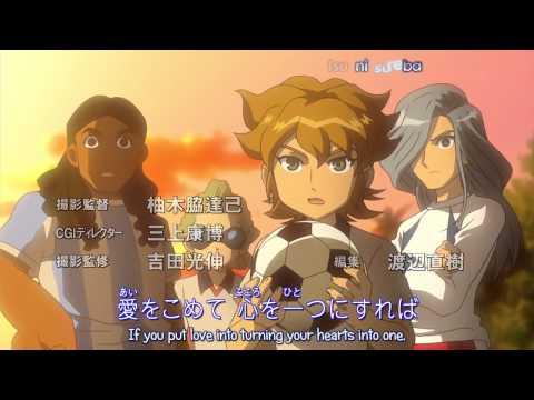 イナズマイレブン Inazuma Eleven Op 6 karaoke sub test