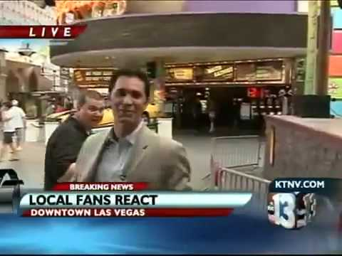 Reporter freaks out on live TV