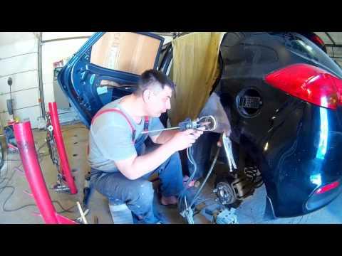 Киа Сид ремонт кузова в Нижнем Новгороде KIA Ceed  Auto body repair