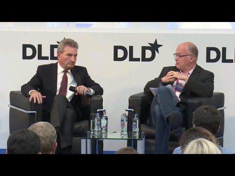Brexit And The European Budget (Günther Oettinger,  & Ludwig Siegele) I DLD Europe 17