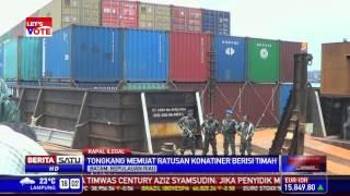 Video TNI AL Amankan Ratusan Kontainer Berisi Timah Ilegal download MP3, 3GP, MP4, WEBM, AVI, FLV Juni 2018