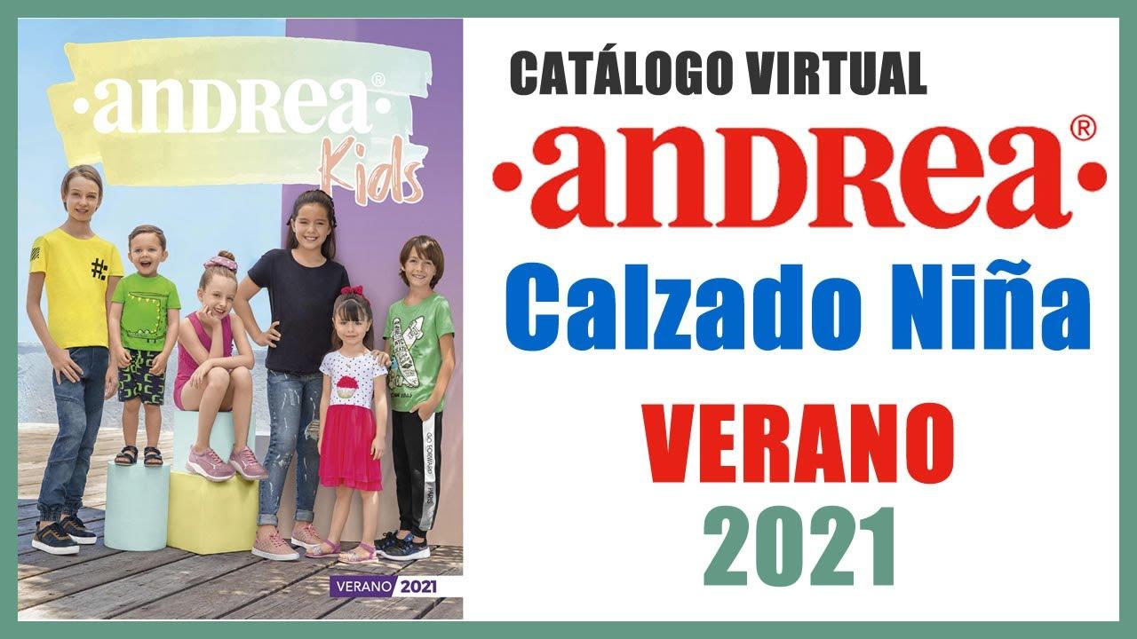 Catálogo ANDREA Calzado Niña VERANO 2021