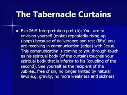 Part 2 of the Tabernacle Curtains