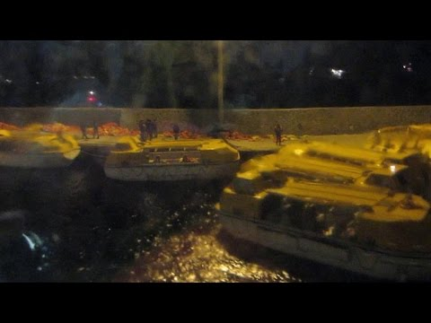 Costa Concordia: Chaotic Footage from Inside the Crash