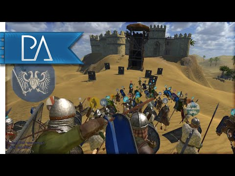Thumbnail: FORM SHIELD WALL - Mount and Blade: Warband Gameplay {Siege Event}