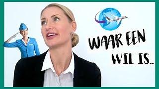 HOE WORD JE STEWARDESS? - MIJN TIPS EN HOE IK DIT WERD - diesnaloomans.nl