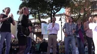 Acto de cierre de campaña en Tenerife.