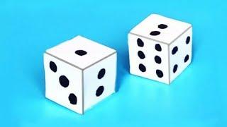 как сделать кубик для игры своими руками
