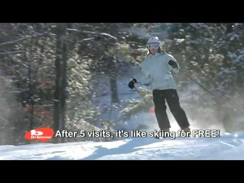 SKI BUTTERNUT Season Pass 201112  Buy early and Ski March FREE Deal  30sec TV commercial.